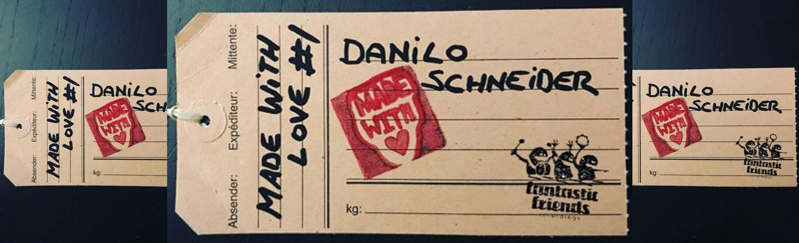 Danilo Schneider – made with love #1 Podcast